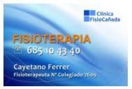 CAYETANO FERRER - FISIOTERAPIA DEPORTIVA ALMERÍA