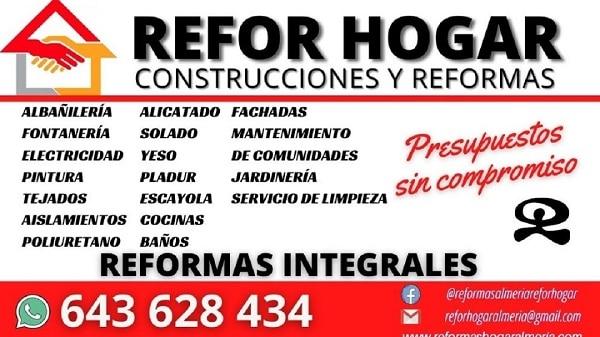 Reformas Hogar Almeria