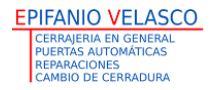 Cerrajería Epifanio Velasco - Cerrajeros en Torrelodones
