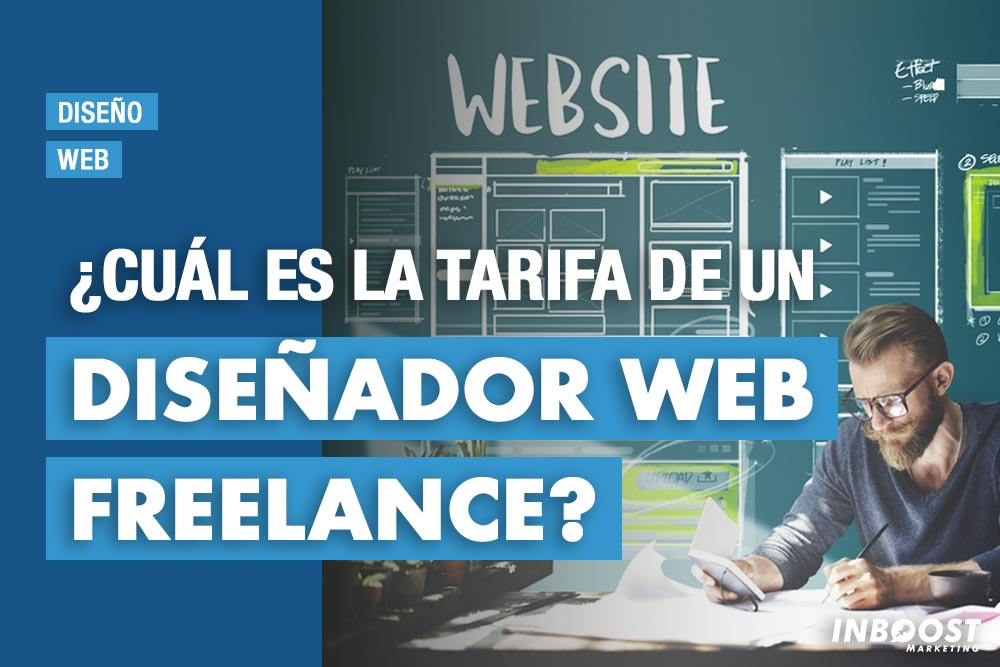 ¿Cuál es la tarifa de un diseñador web freelance?
