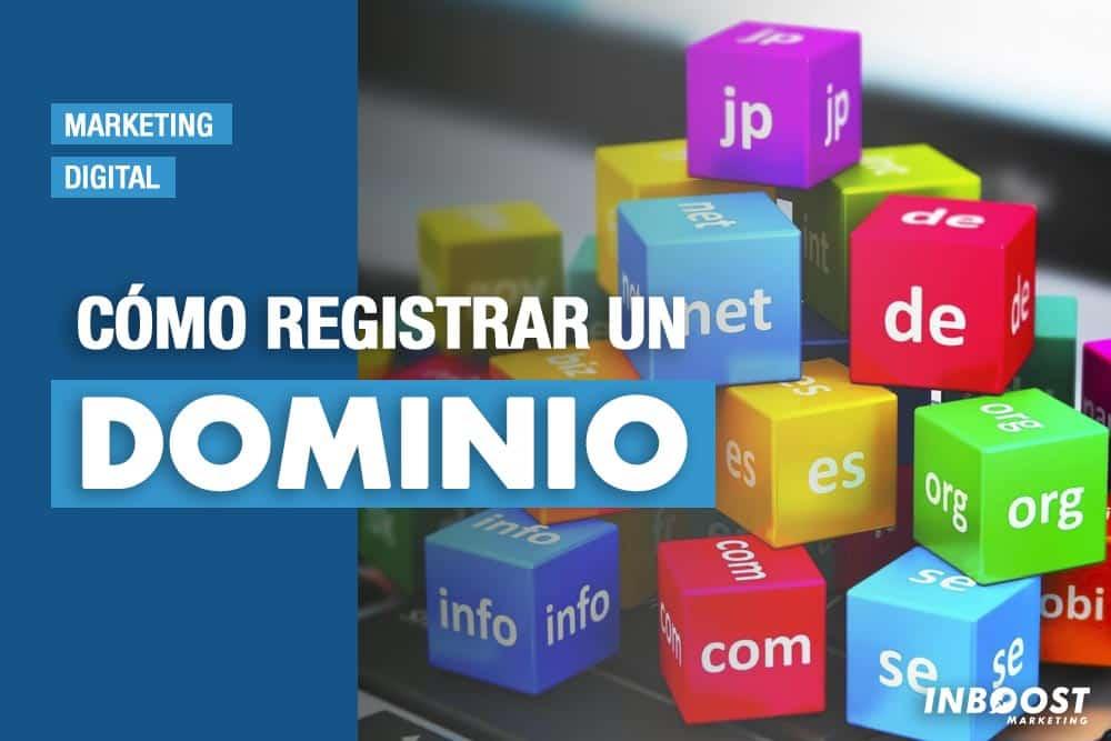 como registrar dominio