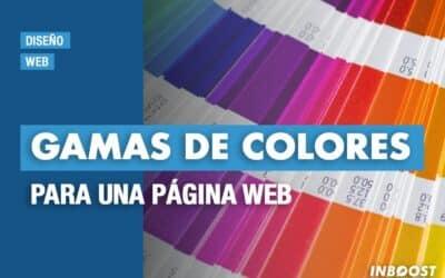 Gamas de colores para una página web