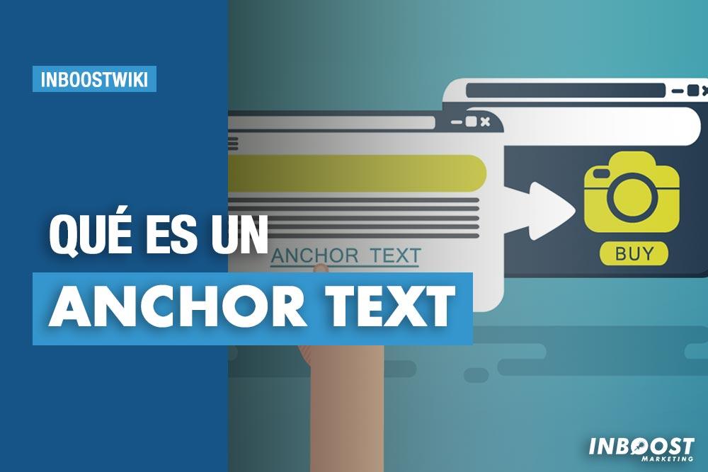 que es un anchor text